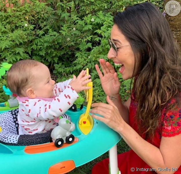 Giselle Itié abre o jogo sobre a criação do filho, Pedro Luna