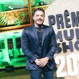 Wesley Safadão se apresentou de Fortaleza para o prêmio Multishow
