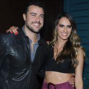 Pais de gêmeas! Joaquim Lopes e Marcella Fogaça anunciam gravidez: 'Duas'