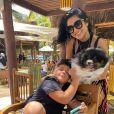 Filho de Wesley Safadão e Mileide Mihaile ganha festa ao vivo da empresária