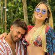 Vírginia Fonseca e Zé Felipe serão pais de uma menina