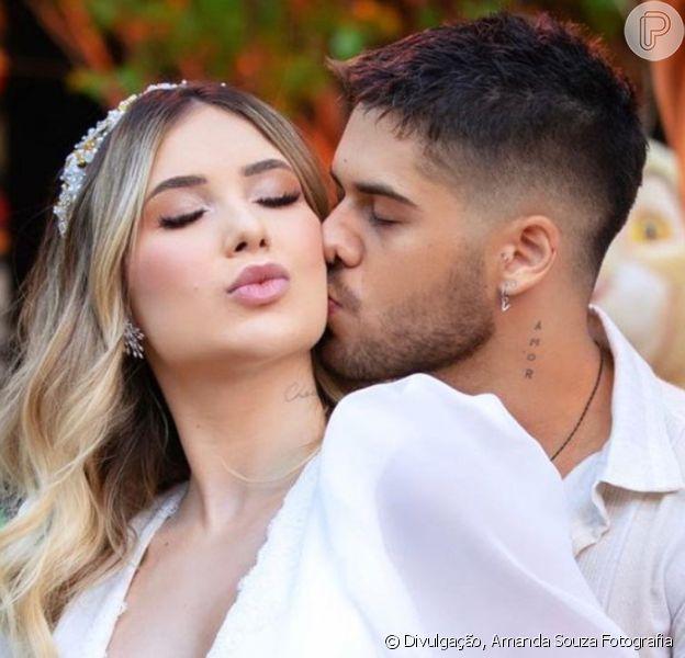 Vírginia Fonseca e Zé Felipe descobrem sexo do primeiro filho, em 28 de novembro de 2020