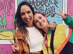 Em rumor de término, Laryssa Ayres exibe foto com Maria Maya e quadro com declaração