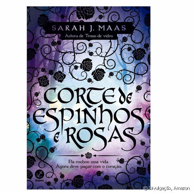 Livro 'Corte de espinhos e rosas'