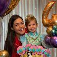 Filha de Thais Fersoza, Melinda mandou recado para os seguidores da mãe em rede social