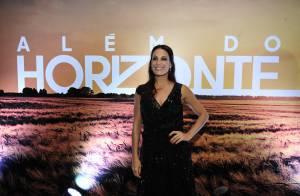 Carolina Ferraz confirma gravidez e agradece carinho do público: 'Muito felizes'