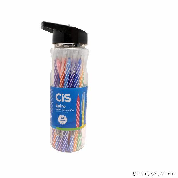 O Kit de Canetas Esferográficas Spiro está à venda na Amazon
