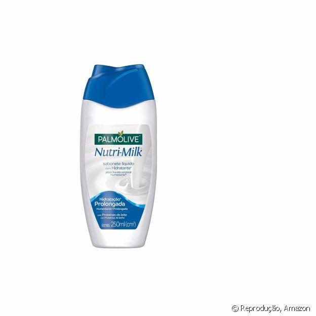 Sabonete líquido com proteínas do leite repõe hidratação no banho