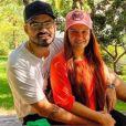Fernando e Maiara estão namorando. Cantor confirma relação em post, em 19 de dezembro de 2020