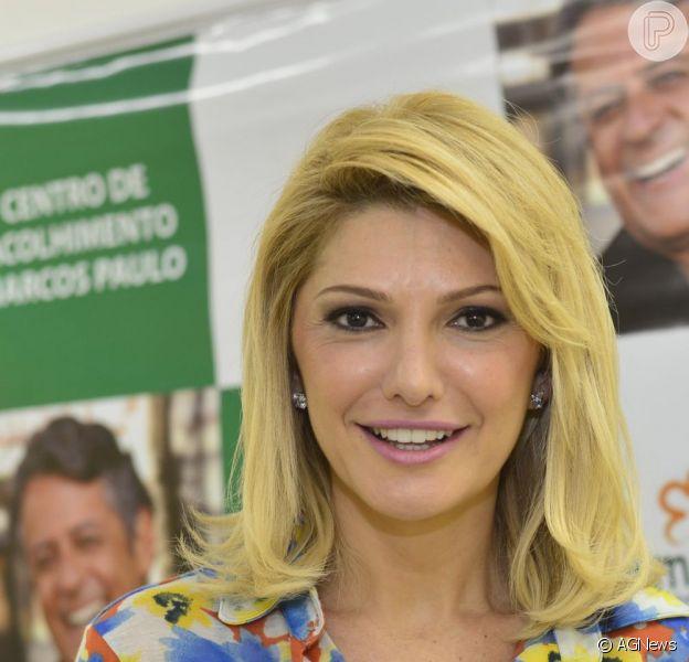 Antônia Fontenelle declarou que não guarda mágoas das filhas do ex-marido, Marcos Paulo