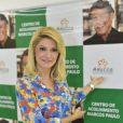 A atriz inaugurou o 'Centro de Acolhimento Marcos Paulo', no Rio, em março de 2013
