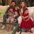 Beleza da filha de Patricia Abravanel chama atenção em fotos da família