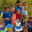 Seguidores enchem a família de Patricia Abravanel de mensagens positivas