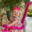 Vicky, filha de Ana Paula Siebert, completou 7 meses em dezembro de 2020