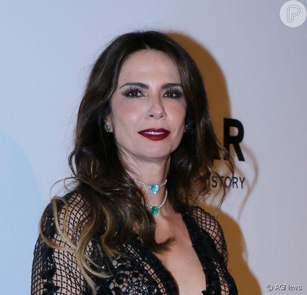 Luciana Gimenez usou sua rede social para lamentar a morte do pai, João Alberto Morad, em 29 de dezembro de 2020
