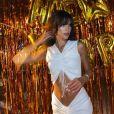 Bruna Marquezine usou vestido Christopher Esber sem mangas