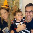 Filha de Ticiane Pinheiro e Cesar Tralli chamou atenção pela semelhança com o pai