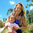 Ticiane Pinheiro é mãe de Manuella, de 1 ano