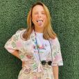 Larissa Manoela usa conjunto estampado da marca Baw