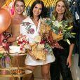 Andressa Suita faz foto com Bruna e Bianca Olivo