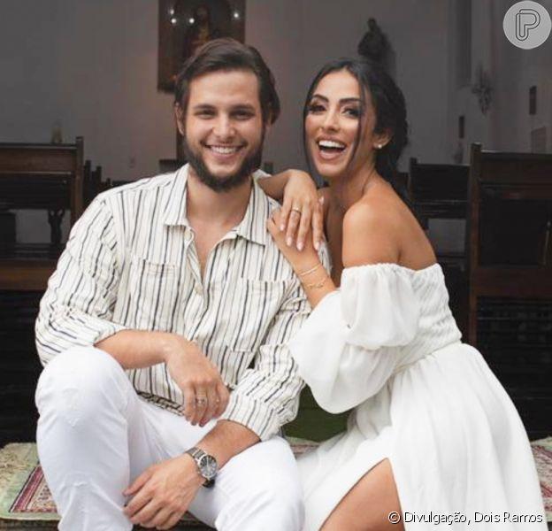 O casamento de Jade Seba e Bruno Guedes aconteceu neste sábado, 23 de janeiro de 2021, no Rio de Janeiro