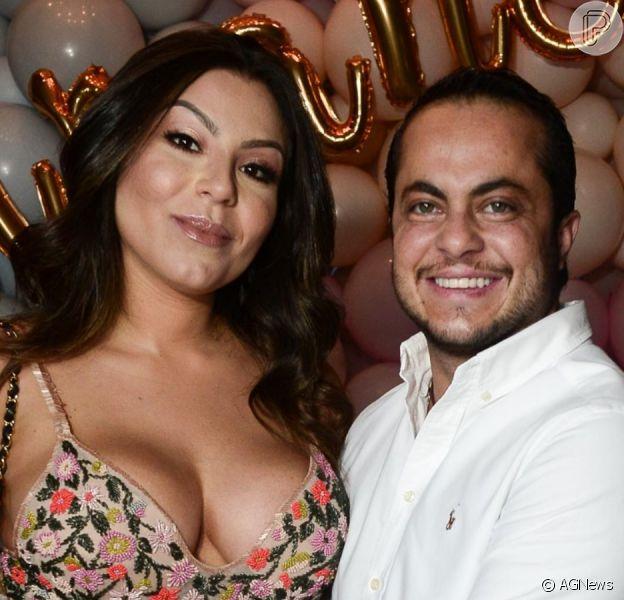 Andressa Ferreira abre o jogo sobre relação com Thammy Miranda
