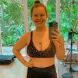 Mariana Bridi está com foco total em seu estilo de vida saudável