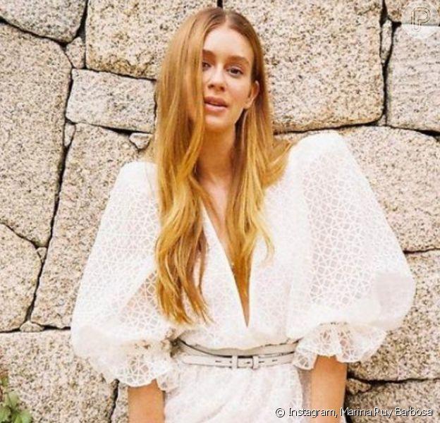 Marina Ruy Barbosa exibe look sexy em sessão de fotos!