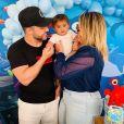 Marília Mendonça e Murilo Huff são pais de Léo, de 1 ano