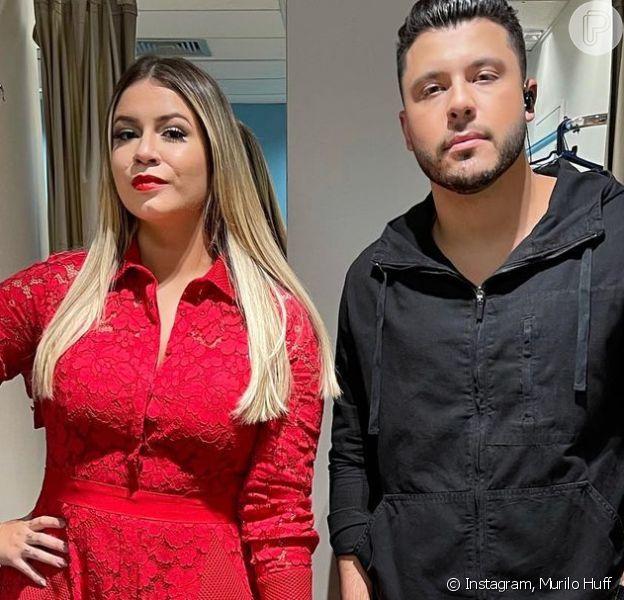Marília Mendonça capricha em look all red