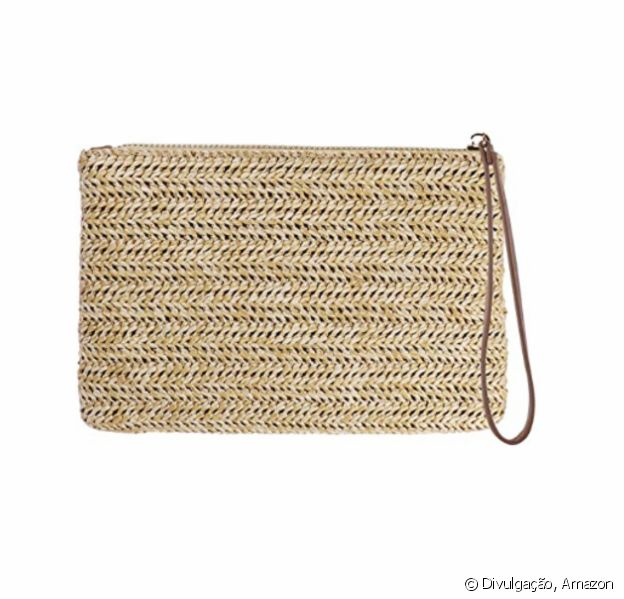 Bolsa de mão feminina com zíper, da Fenical