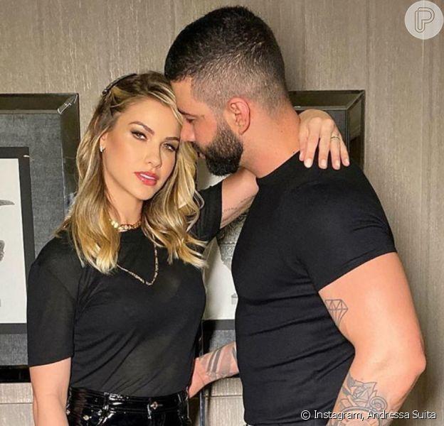 Gusttavo Lima e Andressa Suita estão divorciados!