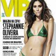 Em julho de 2012, Stephannie Oliveira também estampou a capa da 'VIP'