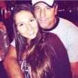 Renato Gaúcho sempre acompanha a filha, Carolina Portaluppi