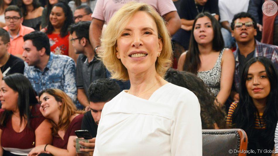 Marília Gabriela descobre câncer no nariz aos 72 anos
