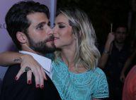 Giovanna Ewbank lança coleção de sapatos na companhia do marido, Bruno Gagliasso