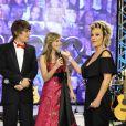 Letícia Navas e Emílio Eric comandaram a última fase da 'TV Globinho'