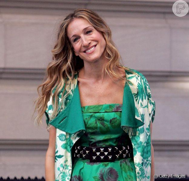 Os looks de Carrie Bradshaw, personagem de Sarah Jessica Parker em 'Sex and the City'