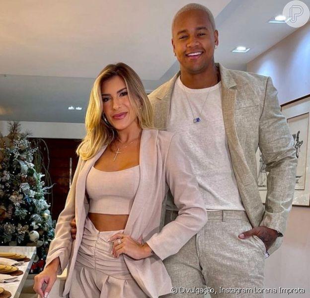 Léo Santana falou sobre a gravidez de Lorena Improta