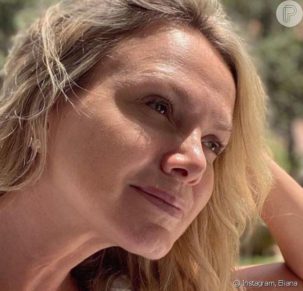 """Eliana surge sem maquiagem e sem filtro em vídeo nas redes sociais e pede: 'Curta o que é seu"""""""