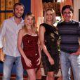 Bianca Rinaldi, Ângelo Paes Leme, Juliana Baroni e Caio Junqueira lançam 'Ribeirão do Tempo' (2010) com entrevista coletiva