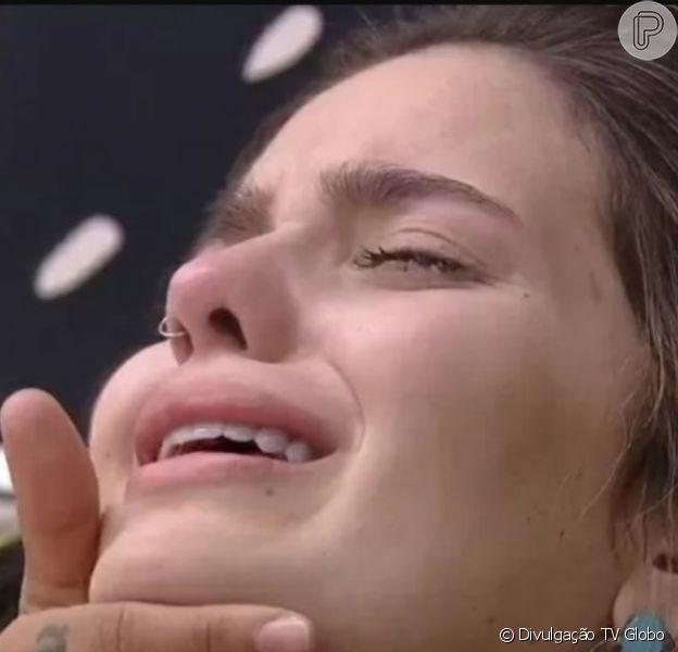 'BBB 21': Viih Tube teve crise de choro por temer ser eliminada. 'Não quero ir embora. Sei que vou'