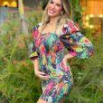 Lore Improta está grávida de 5 meses do primeiro filho com o cantor Léo Santana