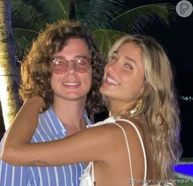 Sasha Meneghel vai se casar com João Figueiredo em maio de 2021, diz a colunista Fabia Oliveira, do jornal 'O Dia' em 6 de maio de 2021