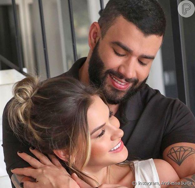 Uma vidente garantiu: Andressa Suita e Gusttavo Lima vão ser pais de novo