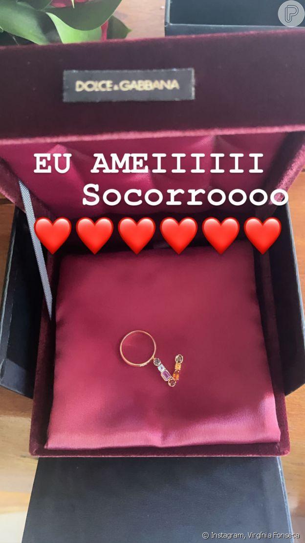 Virgínia Fonseca posta foto de presente dado pelo marido, Zé Felipe