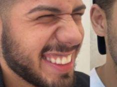 Zé Felipe surge em fotos após colocar botox e sumir com marca de expressão. Antes e depois!