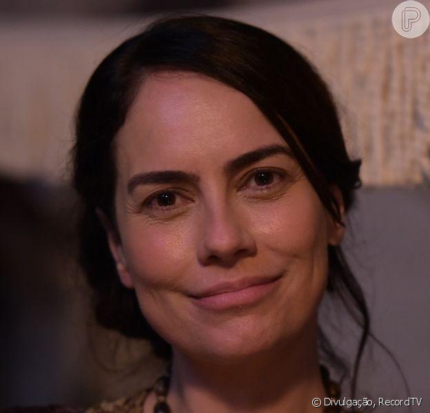Adriana Prado afasta inveja de Quetura a Sara (Adriana Garambone) em 'Gênesis': 'Não quer o lugar de ninguém'