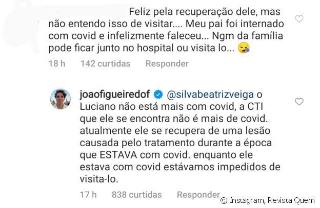 João Figueiredo explica como ele e Sasha visitaram Luciano Szafir