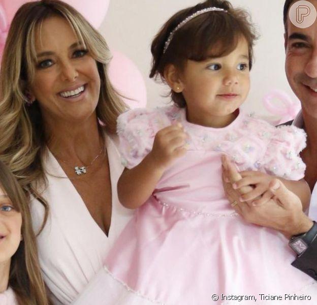 Ticiane Pinheiro se emocionou com homenagem da filha Rafaella Justus para a irmã Manuella: 'Amor de irmãs, tão valioso'